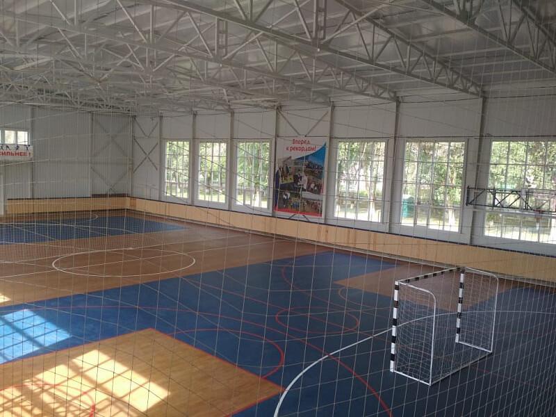 В Кущевском районе построили новый спорткомплекс стоимостью 24,87 млн рублей