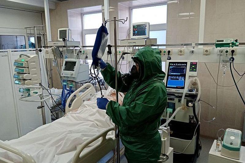 В Краснодарском крае скончались два пациента с COVID-19