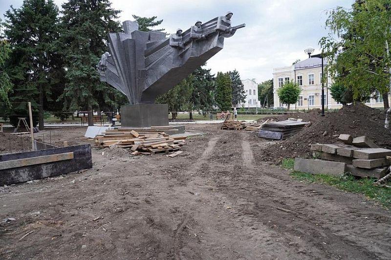 В Ленинградском районе благодаря нацпроекту преобразится парк
