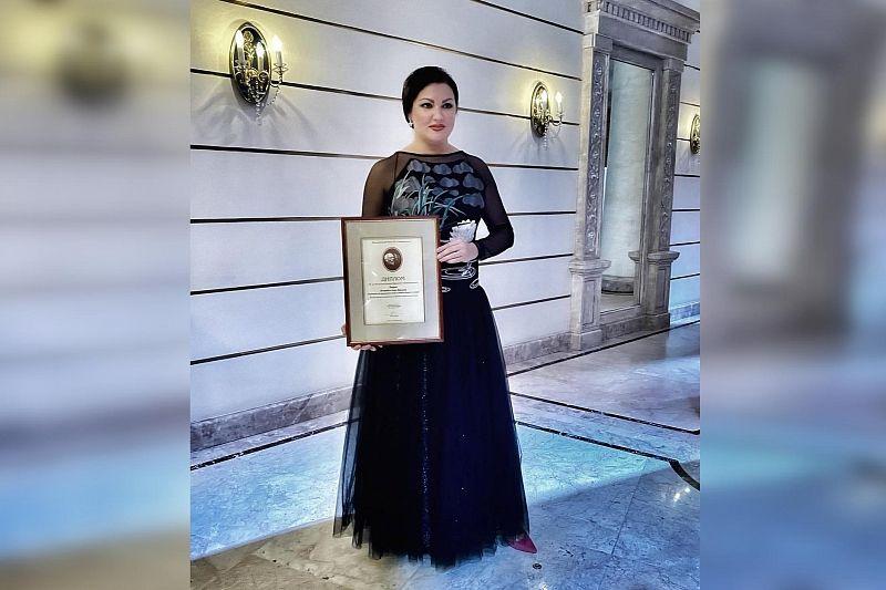 Анна Нетребко получила премию имени Станиславского