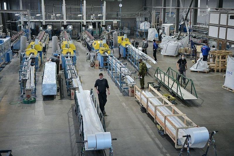 Промышленные предприятия Краснодарского края реализовали продукцию на 254 млрд рублей