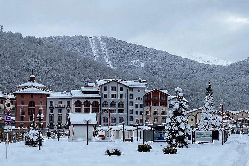 На горнолыжных курортах ожидают рост загрузки отелей