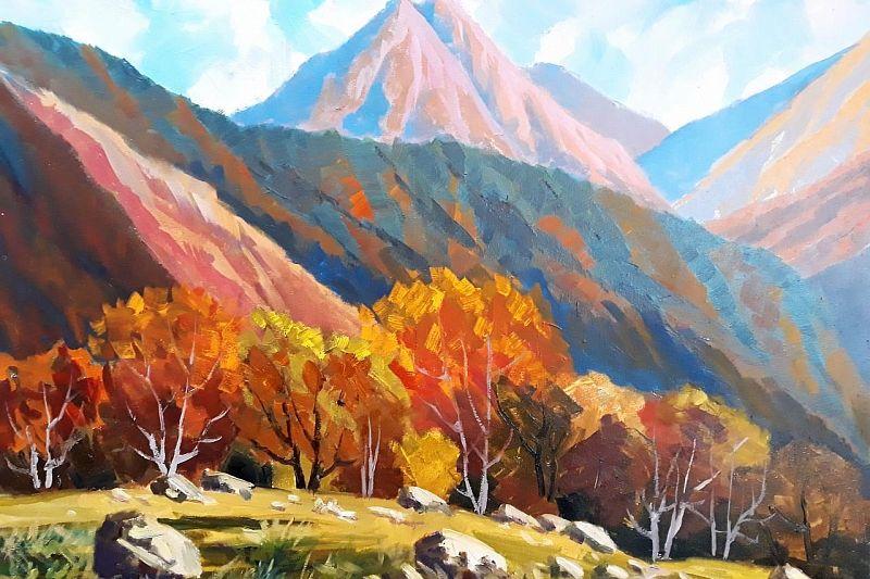 В краевом выставочном зале покажут величие Кавказских гор