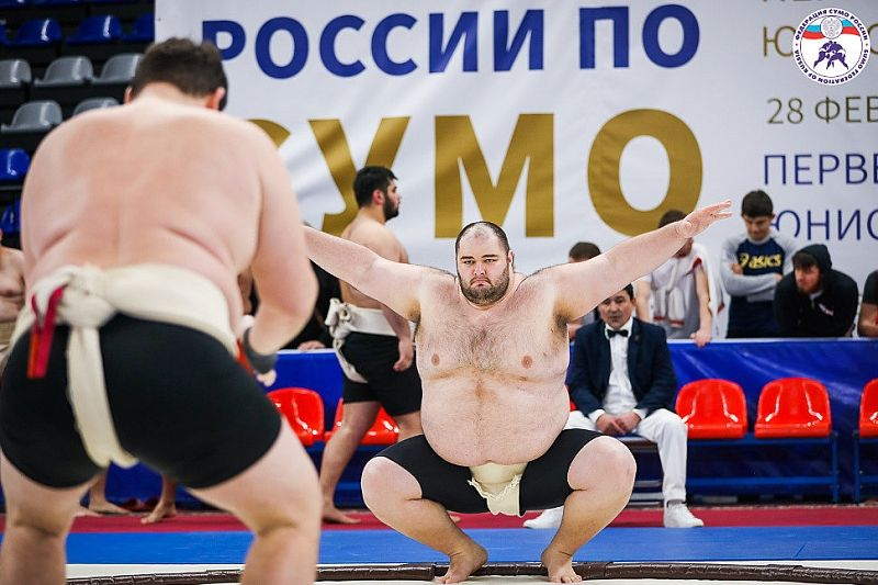 В Краснодаре проходит чемпионат и первенство ЮФО по сумо