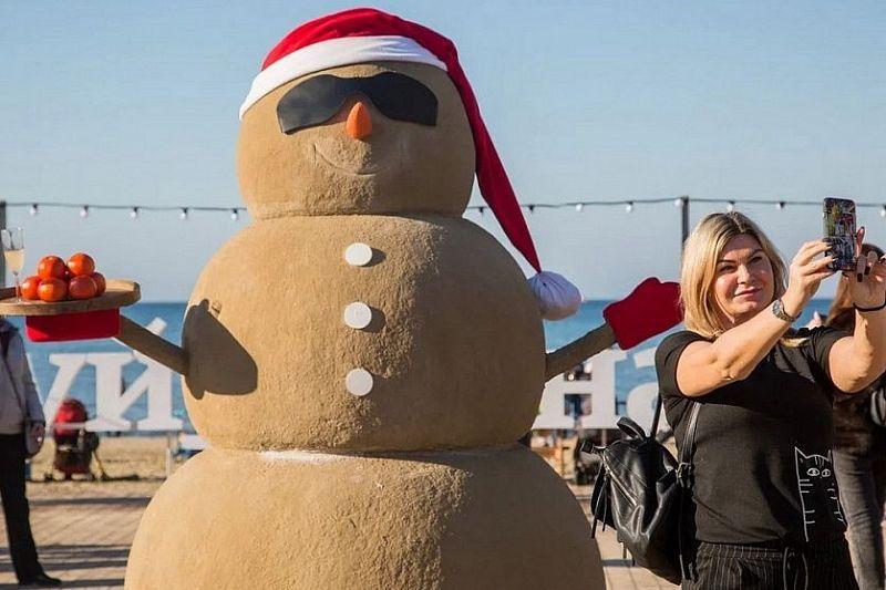 За новогодние праздники в Анапе отдохнуло более 30 тысяч человек