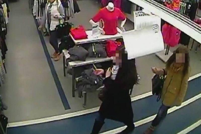 Полицейские задержали двух рецидивисток за кражу кроссовок из магазина