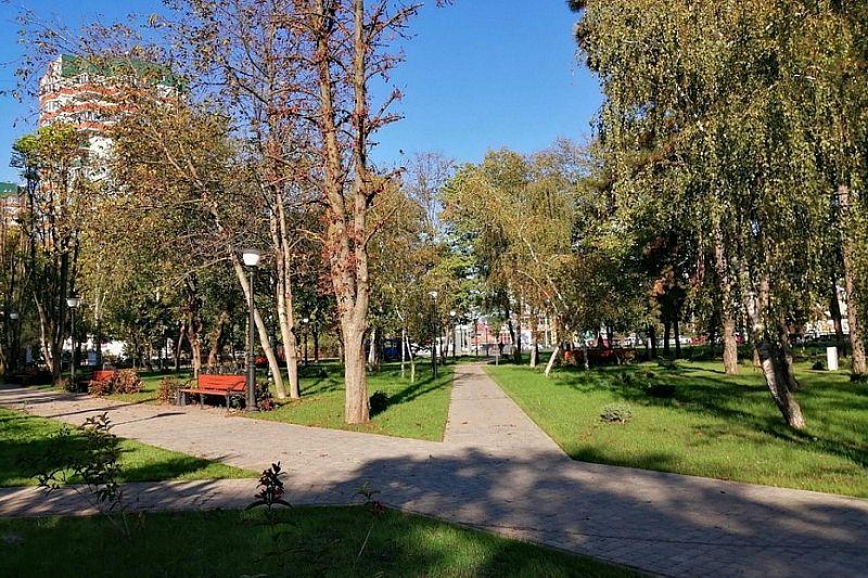 В Новороссийске по нацпроекту благоустроят парк и 9 дворовых территорий