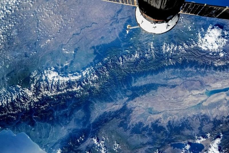 Выставка фотографий гор из космоса откроется на курорте «Красная Поляна»