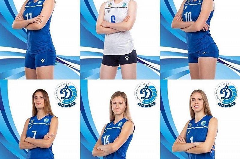 Краснодарское «Динамо» покинут шесть волейболисток