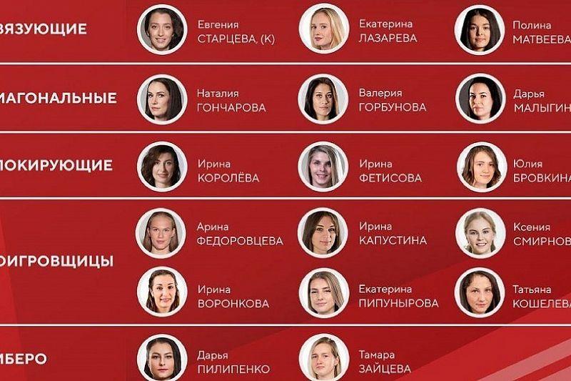 Кубанские волейболистки в составе сборной России одержали первую победу в Лиге наций