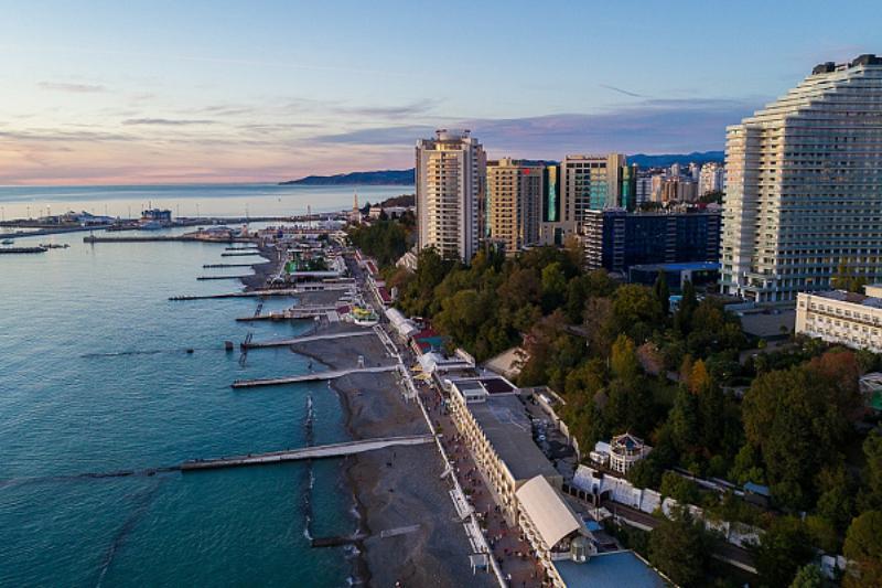 На реконструкцию главной набережной Сочи понадобится не менее 14 млрд рублей